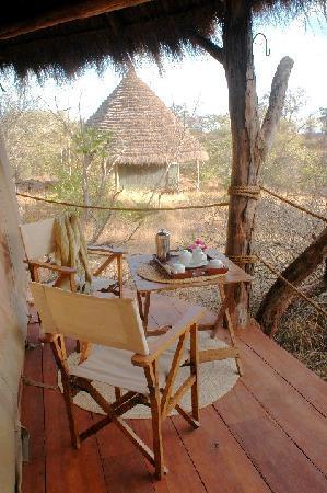 Ndarakwai Ranch Camp: Privacy