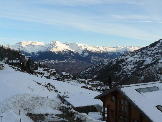 Alpine Comfort: View from our balcony