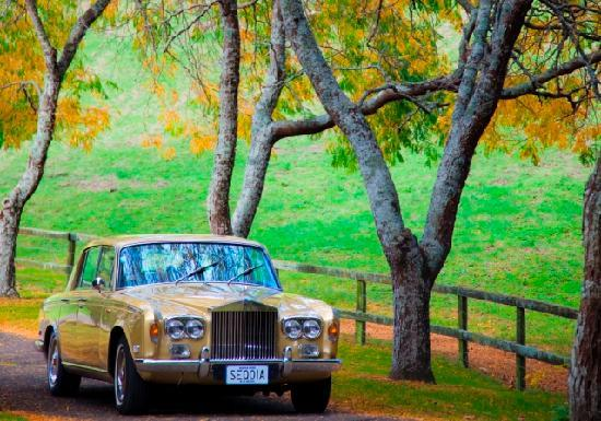 Hamurana Lodge: Unforgettable arrival with our 1975 Silver Shadow Rolls Royce