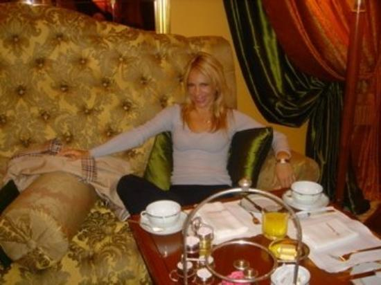 London.. Breakfast at The Dorchester.. my favorite hotel in London