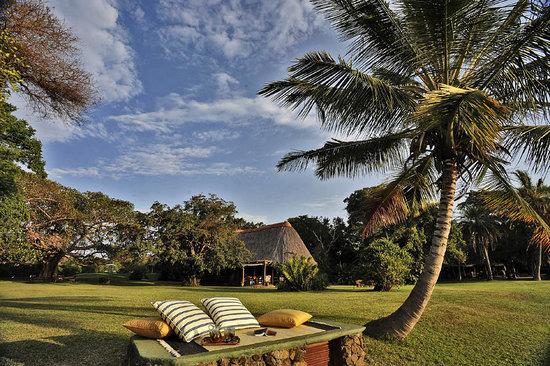 Rusinga Island Lodge: Velvet lawns, blissful relaxation