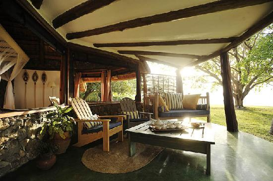 Rusinga Island Lodge: Cottage verandah