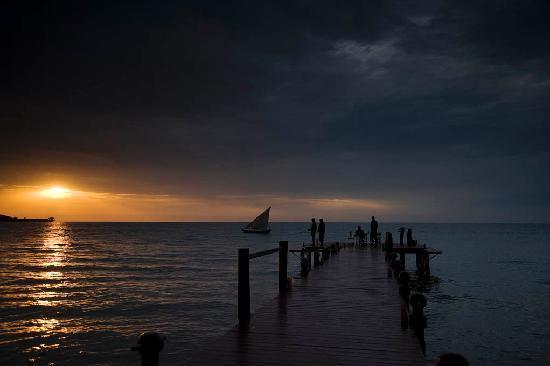 Rusinga Island Lodge: Sunset on Lake Victoria