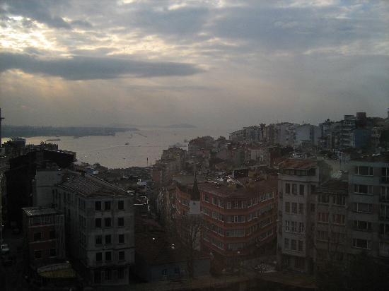 Taksim Metropark Hotel: Bosforo view