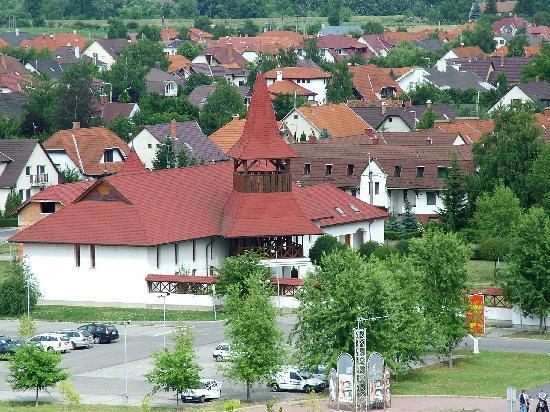 Tiszaujvaros, Hungary: New church