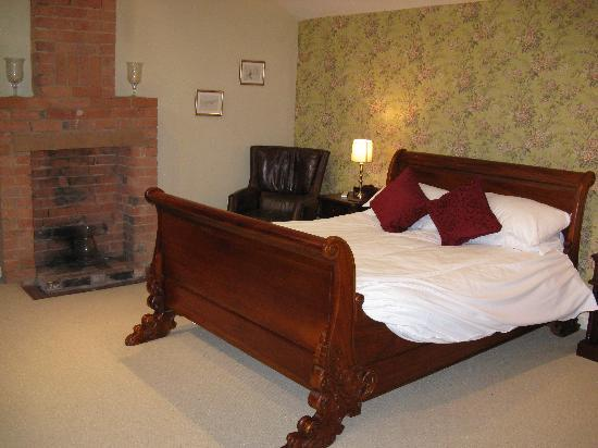 Crown & Plough: One of the bedrooms