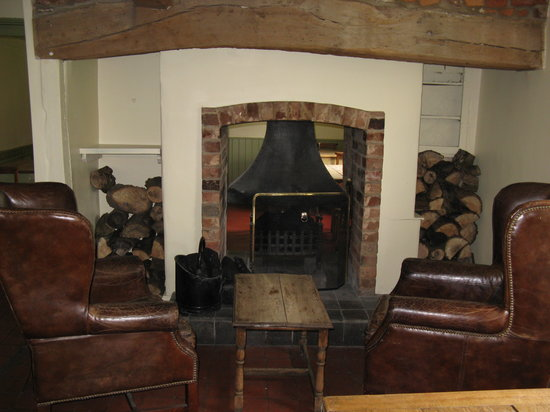 Crown & Plough: Relax by the fire