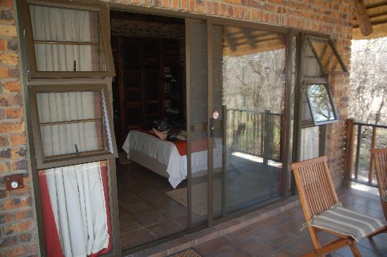 Gomo Gomo Game Lodge: out on the deck