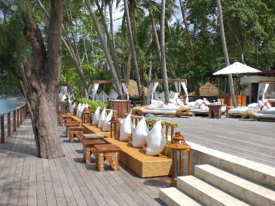 Nikki Beach Resort Koh Samui : piscine /plage
