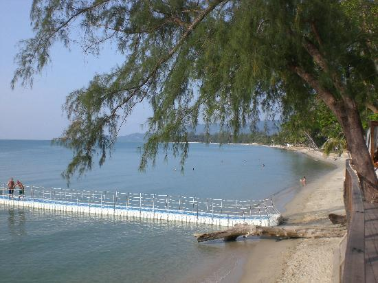 Nikki Beach Resort Koh Samui : plage