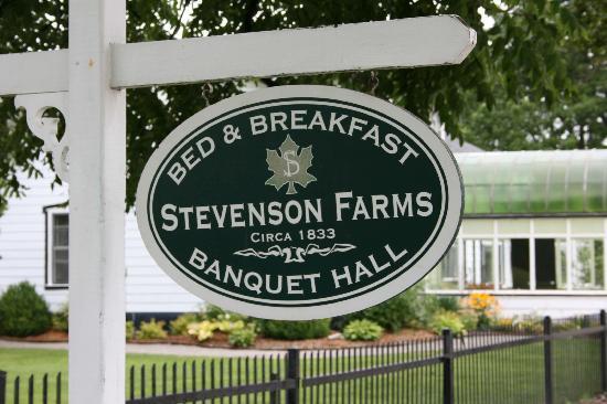 Stevenson Farms B&B: Stevenson Farms
