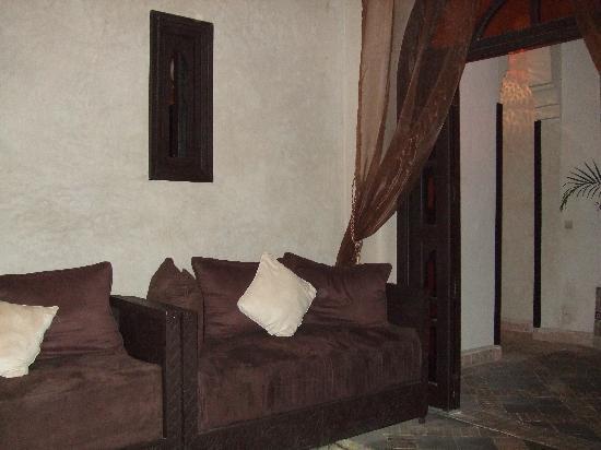 Les Bains de Marrakech - sala d'attesa