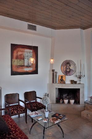 Villa Kerasia: coin salon