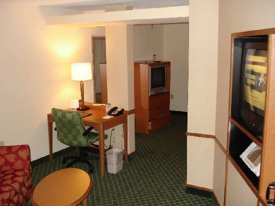 Fairfield Inn & Suites Birmingham Bessemer: As you enter the room