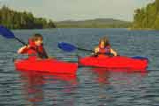 Canada Kayak Vacation at Errington's Wilderness Island Resort
