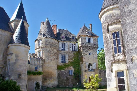Chateau de La Celle Guenand: Who wouldn't want to stay here?!?