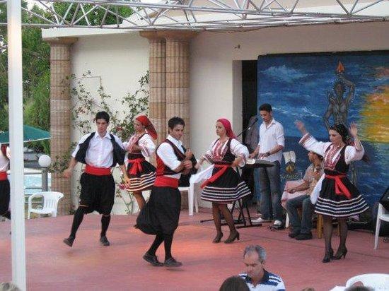 Hotel Calypso: Spectacle de danse à L'hotel