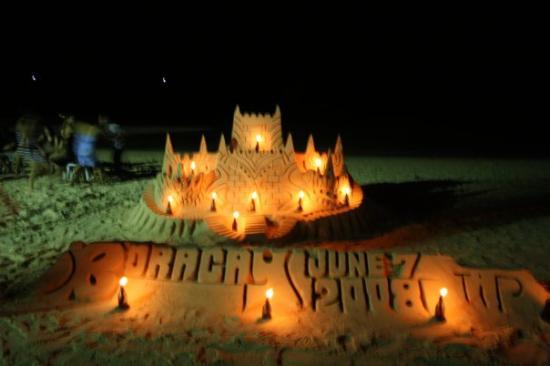 Boracay, Philippines Sand Sculpture