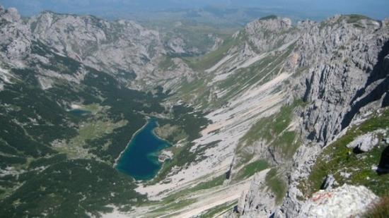 Durmitor National Park, Montenegro: Škrčki pogled sa Bobotov kuka, 2400 m n.m.