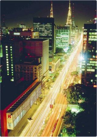 Sao Paulo, SP: Paulista Avenue, the most important economic center in Latin America.