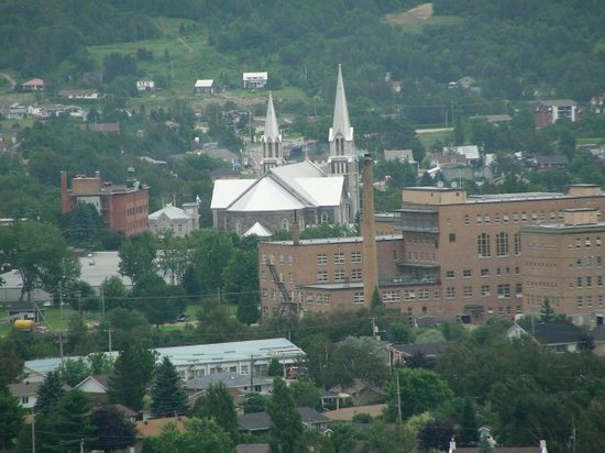 Baie-St-Paul, Canada : view of the town of Baie Saint-Paul