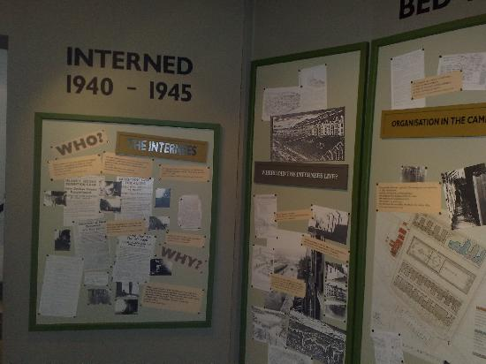 Manx Museum : The war years