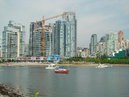 Vancouver, Kanada: fui paraticipar dos jogos de bombeiros e policias em agosto de 2009, uma cidade fantastica