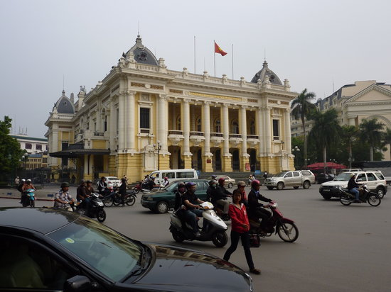 Thang Long Ca Tru Guild: located just minutes from the Hanoi Opera House