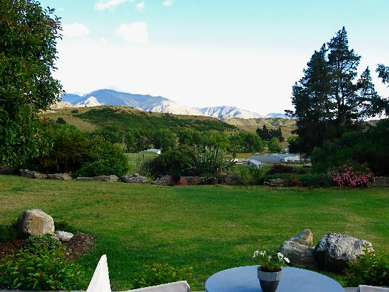 Waiorau Homestead: View from the living room