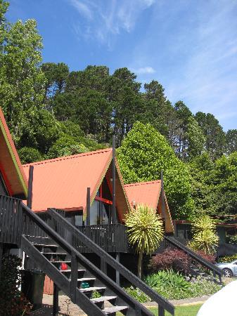 Coastal Motor Lodge: The 'raised unit'
