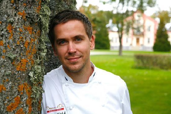 Alexander Restaurant at Padaste Manor: Chef Peeter Pihel