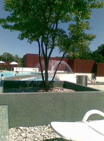 Bad Reichenhall, ألمانيا: giornata alle terme...che figata...6 piscine termali con enormi idromassaggi edun bellissimo sol
