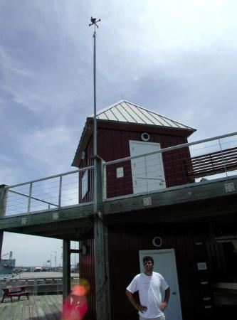 Texas Seaport Museum: Bro 2 of 2.  Galveston museum.  Aug 15, 2001.