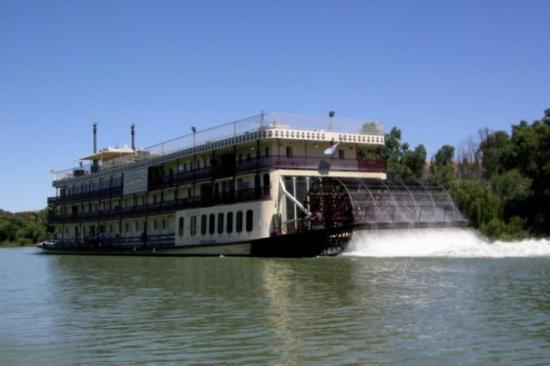 Adelaide, Avustralya: PS Murray Princess; Murray (Darling) River; South Australia; Jan 2010