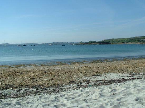 St Mary's, UK: PORTHMELLON BEACH