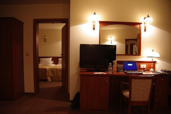 Conrad Hotel & Spa : Le coin bureau