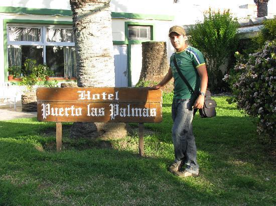 Puerto las Palmas: Jarod at the hotel