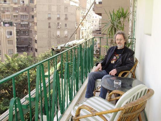 Hotel Longchamps - our own balcony