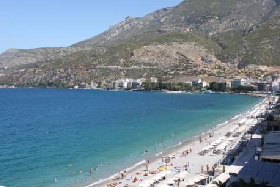 Hotel Segas: Loutraki beach