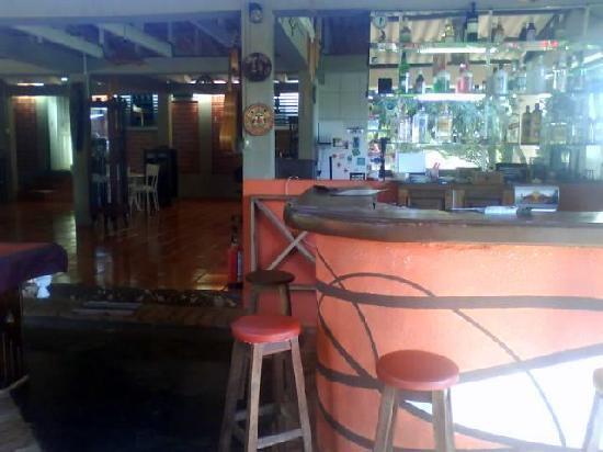 Hostel Nature: Bar area