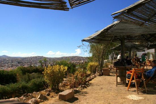 CAFE GOURMET MIRADOR: Terrace