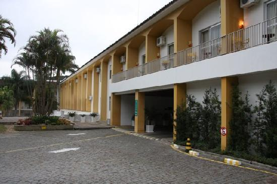 Plaza Caldas Da Imperatriz Resort & Spa: Front of hotel