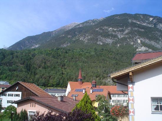 Hotel Mozart: vue du balcon