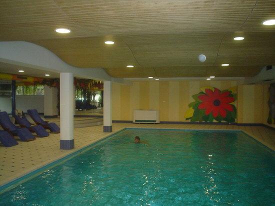 Hotel Mozart: piscine intérieure
