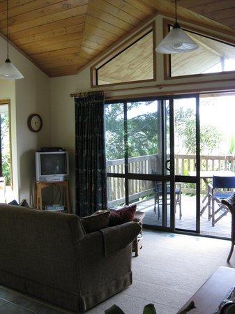 Bay of Islands Cottages: inside the cottage