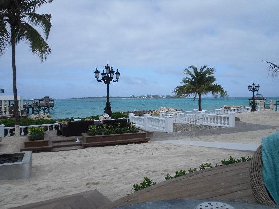 Sandals Royal Bahamian Spa Resort & Offshore Island: looking toward the ocean and island
