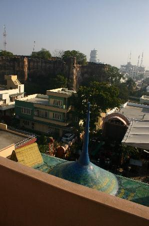 Hotel Pearl Palace: View from the rooftops...
