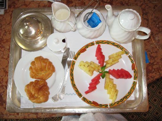 The Orchid Mumbai Vile Parle: My typical breakfast - delivered each day