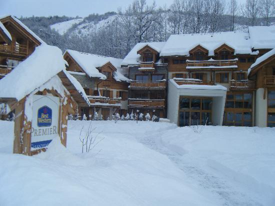 Residence L'Adret: Hotel external