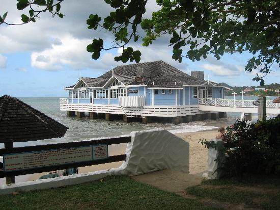 Sandals Halcyon Beach Resort : restaurant le Piers